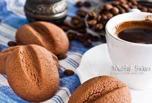Kurabiyeler / kahve kurabiye