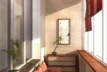 Byvanie - balkony