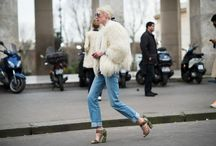 Style & Fur Coats / The best outfits with fur coats from fashion cities