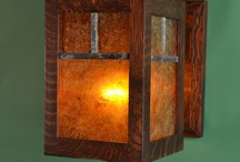 Quarter sawn White Oak Wall Sconce