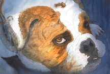Ally's Dog Paintings