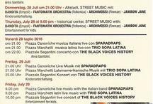Eventi ad Arco & dintorni / eventi e manifestazioni ad Arco e nei dintorni, nel territorio dell'Alto Garda e Gardatrentino
