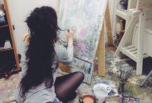 Artists lifestyle