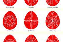 Húsvétitojás minták