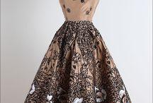 Мода - Платья в стиле 50-х
