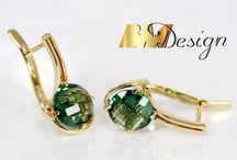 Kolczyki- Kolekcja BM Design / Kolczyki złote, kolekcja BM Design