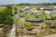 Aerial Photos Smith Lake RV & Cabin Resort