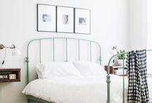 Metal frame beds