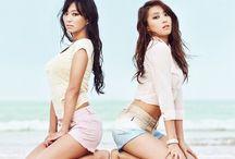 Sistar / Hyorin, Bora, Soyu, Dasom. Bias: Bora