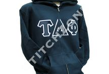 Tau Delta Phi Fraternity  / Zip-up Sweatshirts, Lined Jackets , Stoles, and much more