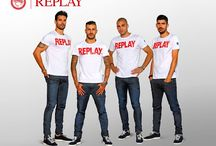 Olympiacos FC / Replay is proud to be the new official sponsor of the Olympiacos FC football team.