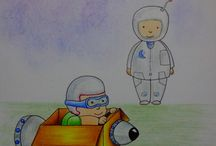 Nambo - Art.  Ilustraciones Infantiles (2016) / Dibujo, Ilustraciones (proyecto para libro)