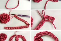 rosas a crochet
