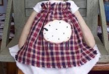Cloth dolls & toys