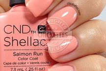 Shellac & SNS Colours