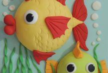 Clay/Sugar Paste - Figurines & Miniatures culinaire