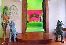 Thai fusion interiors / Vivid interiors. Bermondsey Street. Bolli Darling