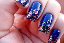 Glitter Nail Polish Ideas