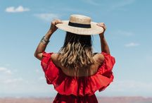 """My favourite blogger -> Sara Escudero / From """"Collage Vintage"""". Perfect boho style."""
