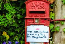 Post Boxes / Post Boxes in the UK and abroad.