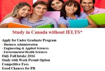 Study in Canada Without IELTS !!