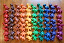 Ariah is TWO / Rainbow dinosaur
