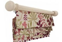 Make a Roman Blind Fabulous / How to make roman blinds look extra special.