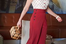 vintage vaatteita