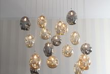 Ordito Blown Glass Lighting Collection