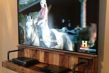 Obývák - televize