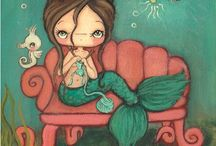 Mermaid illustrazioni