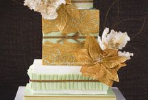 """Edible lace"" cakes"