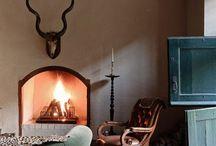 Kaminad, ahjud, korstnad / Fireplaces, ovens, chimneys