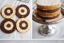 pastalar ve süslemeler