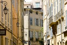 Aix-en-Provence / Cézanne's elegant hometown, filled with fountains and beautiful mansions, works of art and excellent restaurants. http://www.secretearth.com/destinations/503-aix-en-provence