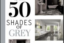 #Bathrooms talk '50 Shades of Grey' / #50ShadesofGrey for #bathrooms at www.thetilehouse.co.za Contact us: 021 506 3020