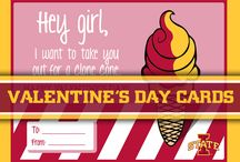 Valentine's Day Cards / You doesn't want to spread some Cyclone Valentine's day love? / by Iowa State Athletics