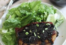 Pork Recipe Love / Pork...the other white meat.  / by Brandy O'Neill   Nutmeg Nanny