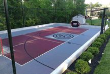 Multi-functional outdoor courts