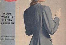 Burda vintage / Burdák az 1950-es, 1960-as, 1970-es évekből