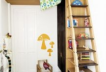 Home - Kids Bedroom / Right now we co-sleep so my children share our bedroom with us,but someday (soon?) they will have bedrooms of their own. I'm excited to make their room(s) beautiful and functional and pertly suited for them. This board is inspiration towards that end. / by Beth Stedman