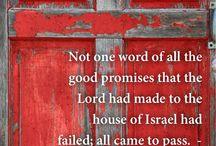 Bible / God's Promises