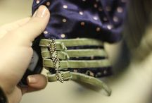 Details / Embroidery, handprint or painted, embellished details to textiles - fashion + interiors