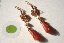 earrings handmade - orecchini fatti a mano
