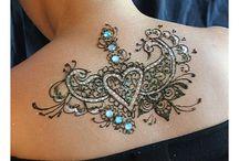 Intricate tattoo