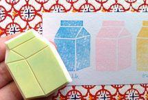 Rubber stamp ideas / by Jennifer Kwok