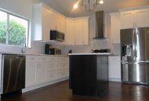 Contemporary kitchen / One of our shaker style contemporary kitchens.