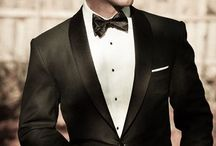 For the Groom / Groomsmen, you have to look good too! Get your tuxedos, suits, and styled look ideas here.