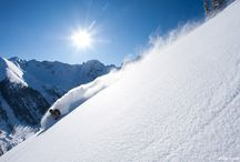 Skiing  / Bumps, Jumps, & Powder / by Steve Grager †