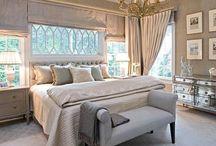 Yatak odası perde tavan süsü